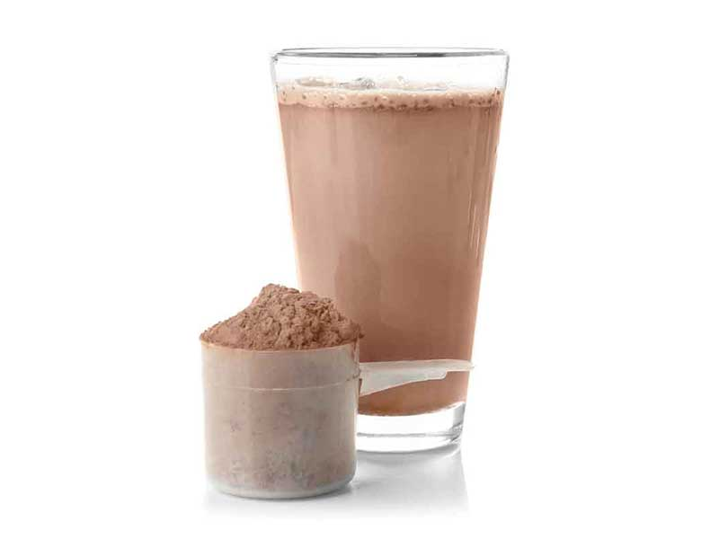Image of Protein Powder and drink